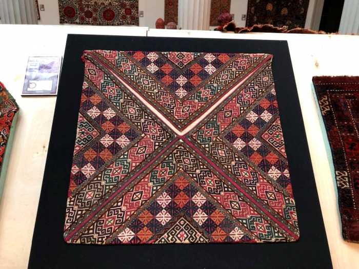 Turkmen embroidered bokhcheh ICOC Washington DC 2018