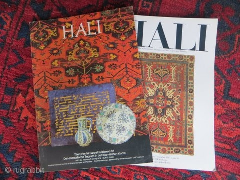 Complete set of Hali magazines published from 1979 to 1987.  Issues #5 – #36 inclusive.  Excellent condition. Unmarked.  Postage from Australia (estimate $220) not included.