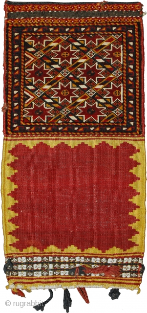 Pile khorjin, Qashqa'i Confederacy, Southern Persia, Circa 1900, 65 x 32 cm (25.5 x 12.5 in.) 