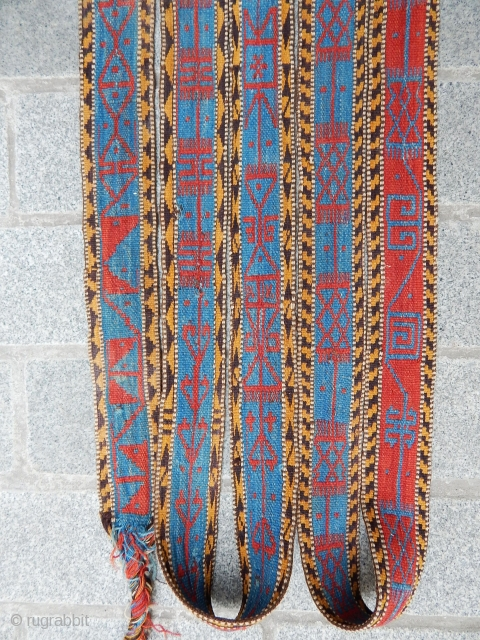 Antique Qashqaii Tend Bands