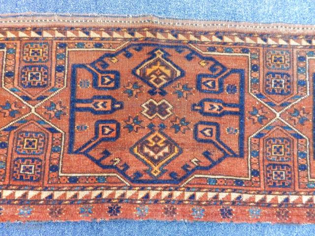 Antique Turkmen Ersari Trapping