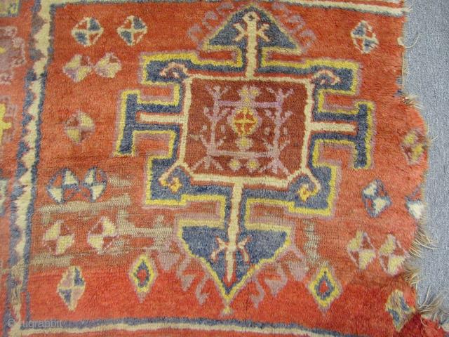 Antique East Anatolian Yörük Rug Fragment
