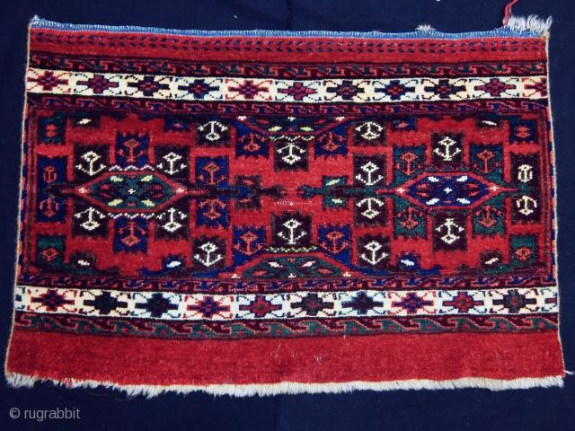 Antique Turkmen Yamut Torba Face Fragment  Size.45x70cm