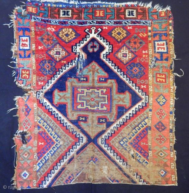 Antique East Anatolian Yöruk Rug Fragment