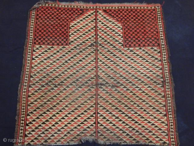 Antique Kırgız Rug Fragment