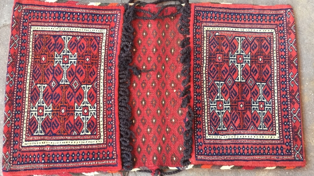 Turkmen a beautifull naturel colors saddle-bag Size : ''95cm x 55cm'' Thank you for visiting my rugrabbit store !
