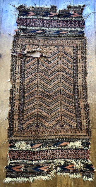 Antique camel ground sofreh 19 c size 70 x 160 cm