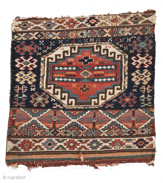 Lot 17, Shahsavan Soumak bag face, start price: € 360, Auction 30th April 3pm, http://www.liveauctioneers.com/auctioneers/LOT44821882.html