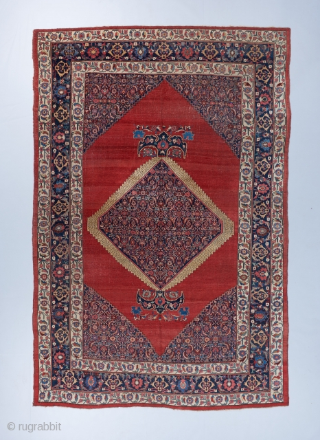 """Room sized Bijar carpet. 14'5"""" x 9'8"""". Ask for more details ."""