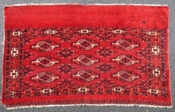 Kizyl Ayak chuval, 1900 or before.
