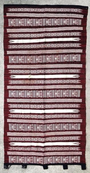 Kabyle weaving fragment, around 1930.