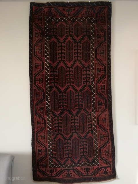 Antique Belutch, Timuri tribe, ca 1915