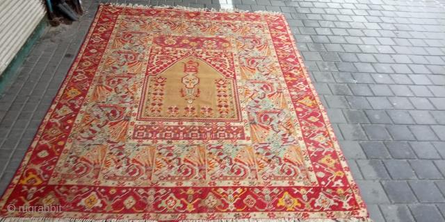 Prayer rug turkey mint condition size:230x170-cm please ask
