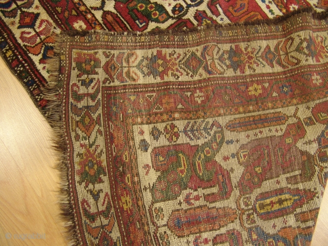 Antique Kurdish Runner  Size 0,87 x 3,18