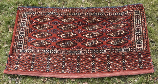 Yamout complete chuval. 130cm x 69 cm = 51x27 inches