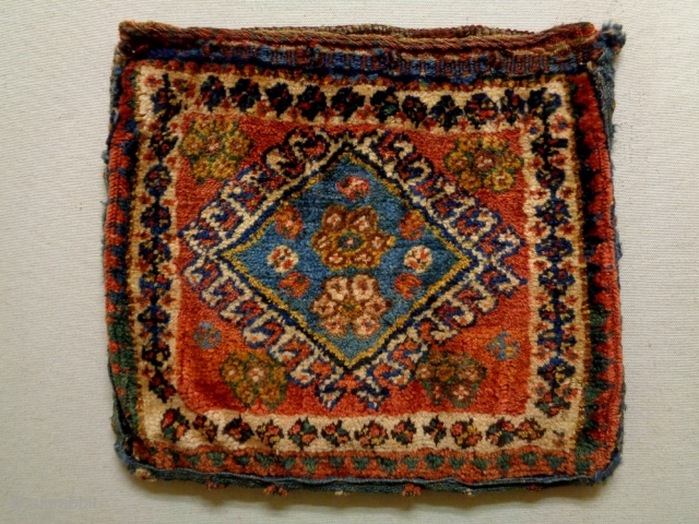 Qasqhay Bag Complete Size: 39x35cm Made in circa 1910