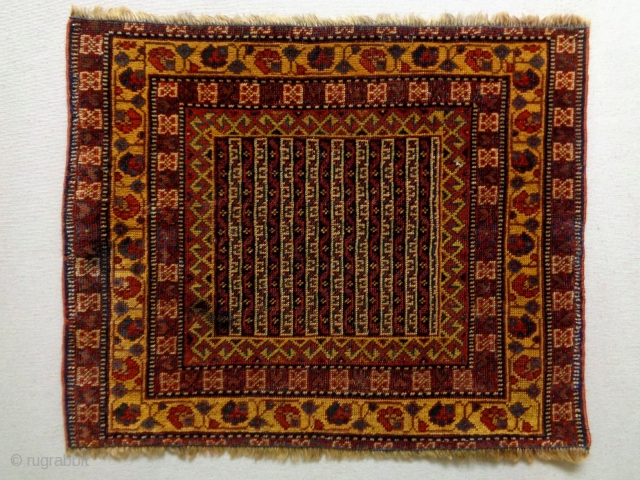 19th Century very Fine Afshar Bagface