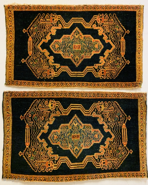 Pair Senneh in very good condations-sizes86x53cm