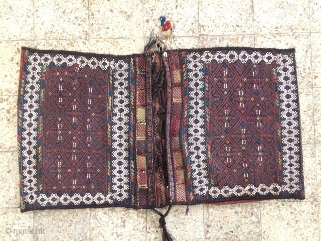 Afshar saddle bag in a good condition,Size:148x82 cm