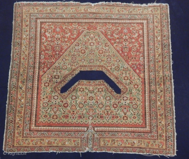 Senneh horse cover 1880 circa size 101x103cm,Please inquire for more images