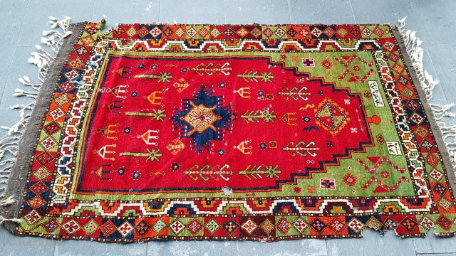 Size : 100 x 155 (cm), Middle anatolia , ask for detailed pictures.