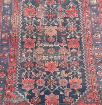 Malayer rug 1910-1920. 110*200 cm will be sold to the first reasonable offer. overall in good condition with signs of wear and usage.