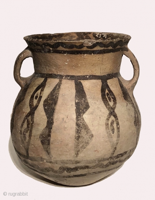Three ancient ceramic vessels from the Altiplano region of the South Central Andes, Lake Titicaca Basin. A.D. 600 - 1100.  Little is known about ceramics from this period and region.   ...