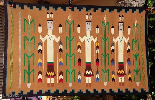 Indian weaving, Grand Canyon, Arizona, Circa 1950, 127 x 81 Price upon request