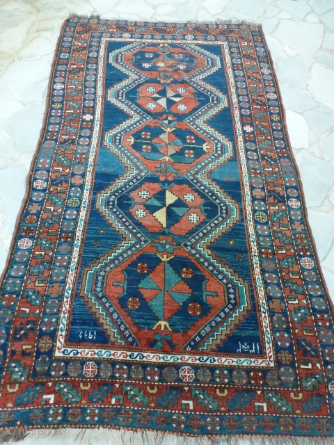 Kazak Arménien, 260 x 145.