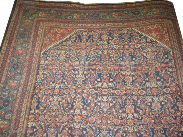 "Mahal Persian knotted circa in 1918 antique, 403 x 305 (cm) 13' 3"" x 10'  carpet ID: P-5108
