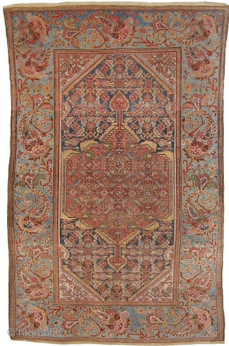 "Malaier Persian circa 1905 antique.  Size: 205 x 123 (cm) 6' 9"" x 4'  carpet ID: K-287