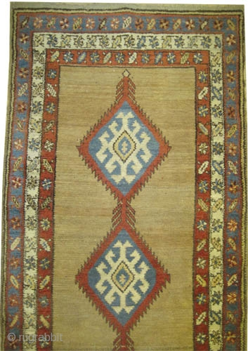 """Serap Persian knotted circa in 1905 antique, 312 x 97 (cm) 10' 3"""" x 3' 2""""  carpet ID: K-4359 The background is knotted with camel hair, the knots are hand spun wool,  ..."""
