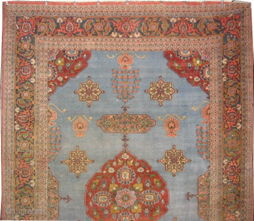 """C Birjend Persian knotted circa in 1920, antique, 349 x 228 (cm) 11' 5"""" x 7' 6""""  carpet ID: P-3514 High pile, in perfect condition, the knots are hand spun lamb wool, the  ..."""