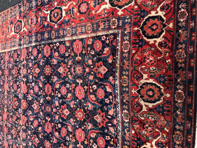 Antique Palace  size Persian  Malayer very good  condition 