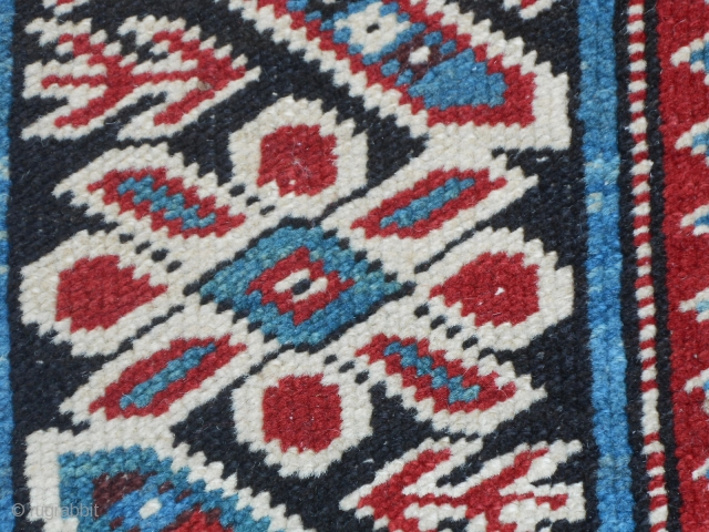 Antique Kurdangool TCHI-TCHI Caucasus Kuba carpet.