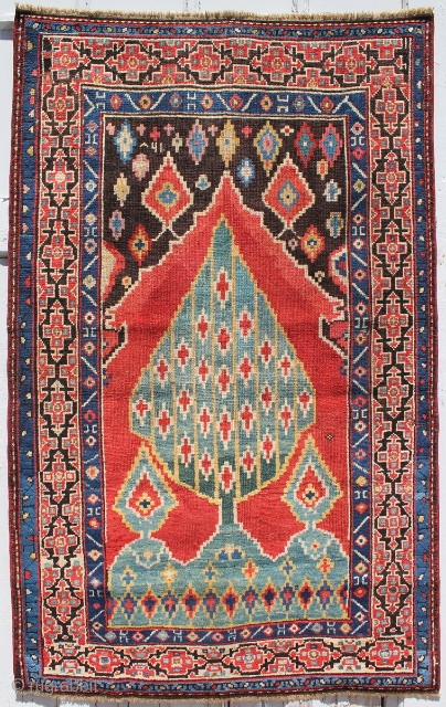 Wishing you love, peace, happiness and prosperous 2014.  An splendid Karabagh tree of life rug, circa 3rd quarter of the 19th century. measures out to 3-1 x 4-11 ft.
