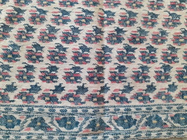 Antique shawl fragment, India,33x13inch.