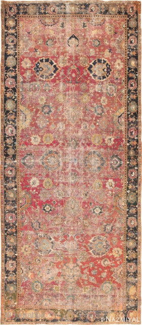 17th Century Persian Isfahan is in remarkable condition for its age. Size: 5 ft 10 in x 13 ft 7 in (1.78 m x 4.14 m). This piece is included in Our  ...