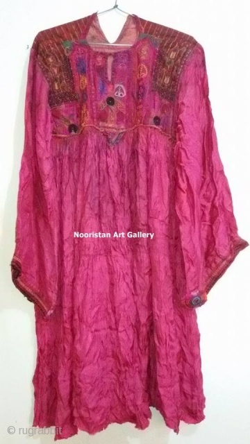 \ and Silk embroidered antique silk Dress