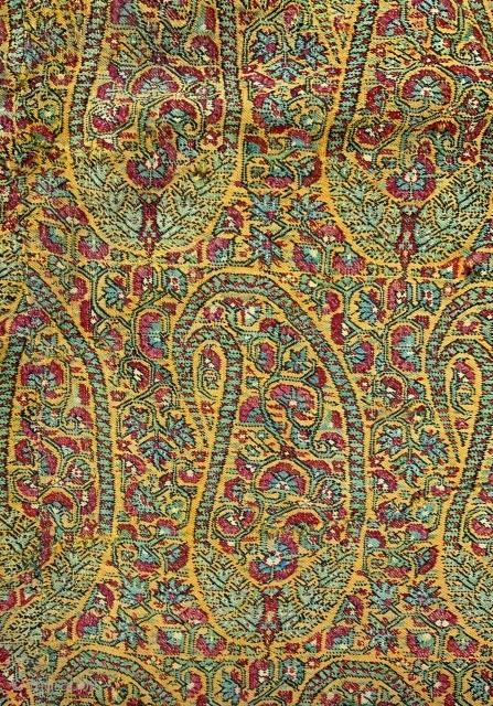 persian shawl fragment..