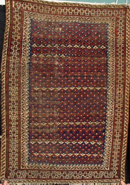 Small Belouch rug from the 3rd