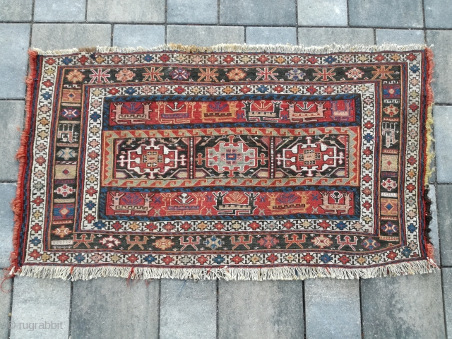 An antique Sumakh Panel in very good shape. 100/60 cm.