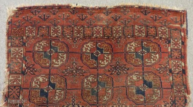 Antique Türkmen Tekke Small Rug Size98x83 Cm