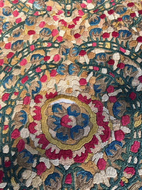 Beautiful Needlework C19th    101 cm * 36 cm Although a fragment on a backing cloth  it's in great condition and fabulous colours  Pay PayPal or BACS transfer    ...