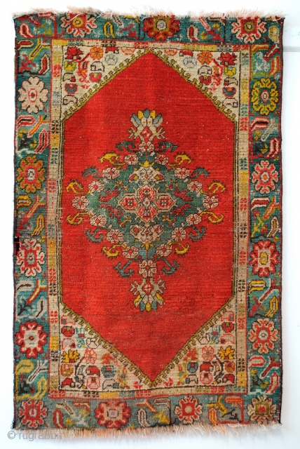 Anatolian Prayer Rug. 1920-1930. 