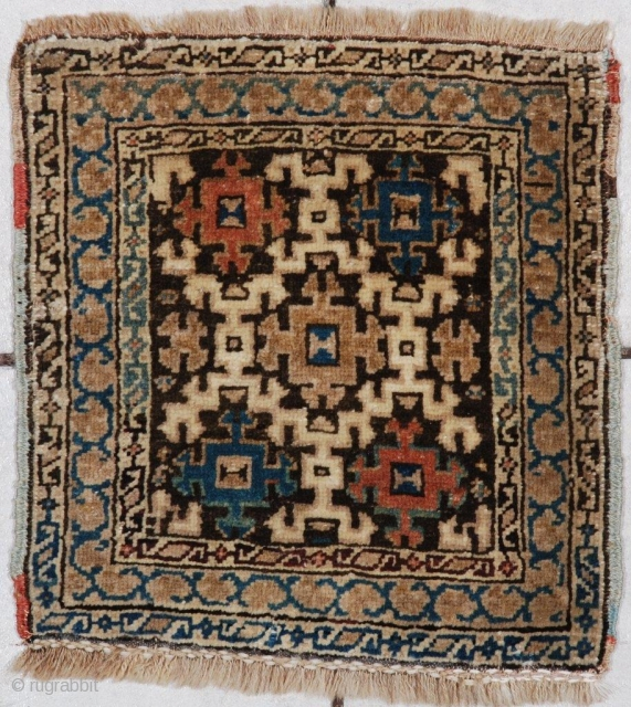 #7040 Antique Kuba Caucasian rug 