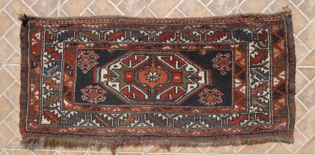 Veramin Torba, Kizil Bash tribe, 48 x 104 cm. good colours and in excellent condition