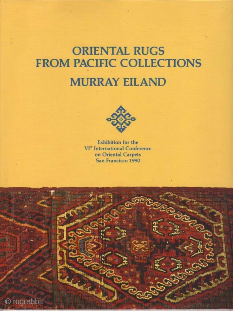 Oriental Rugs from Pacific Collections http://www.rugbooks.com/catalog/product_view/?product_id=10868