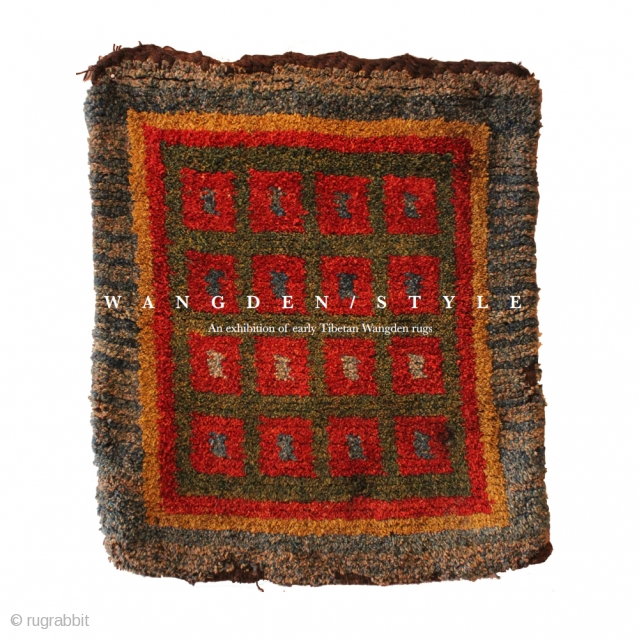 Wangden-style book. 48 pages. Preface by Thomas Wild, many illustrations and a catalog of 15 early Wangden pieces in the exhibition, plus a rare group of mongolian red resist dyed felts. Price  ...