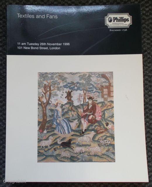 Phillips: Textiles ans Fans. 26.11.1996